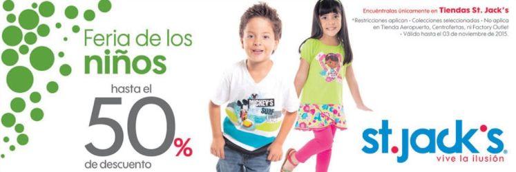 Feria de ninos KIDS discounts st jacks