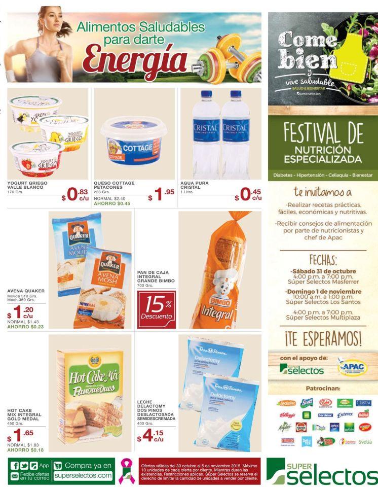 Festival de nutricion especializada gracias a super selectos