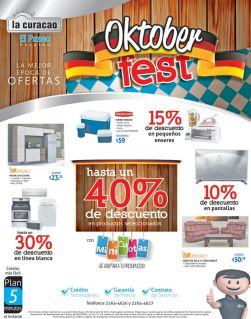 La mejor EPOCA de ofertas OKTOBER fest via LA CURACAO