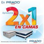 Las camas siguen al 2x1 en almacenes PRADO - 21oct15