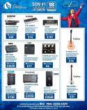 Los mejores instrumentos y equipos de sonido profesional en PROMOCION casa instrumental el salvador