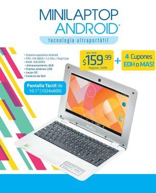MINI LAPTOP android tecnologia ultra portatil