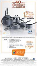 Oferta para equipar tu cocina SET gourmet anodizada Tramontina