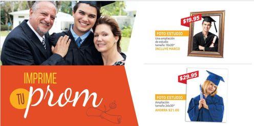 Promociones en la impresion de tus fotos de graduacion