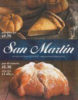 SAN MARTIN bakery to halloween 2015 pumpkin pie dead bread