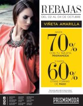 Virnes y fin de semana con REBAJAS en tiendas PRISMAMODA - 02oct15