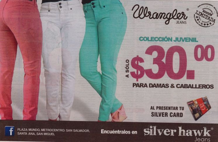 WRANGKER jeans teenegers collection