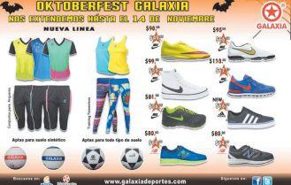 oktober hallowwen fest GALAXIA deportes