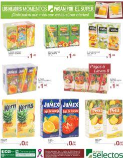 sabor rico en vitamonas con JUGOS promociones - 15oct15