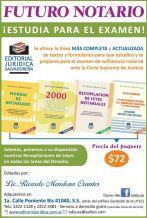 Abogado Preparate para el examen de sufuciencia notarial ante la corte suprema de justicia