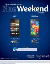 BLUE weekend de TIGO con mucho telefonos rebajados