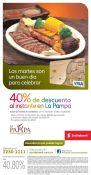 Come las mejor carne de LA PAMPA con 40 OFF todos los martes