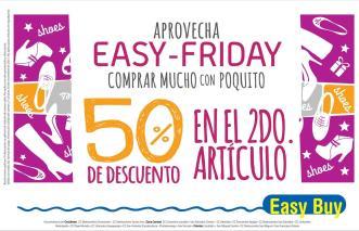 EASY FRIDAY promociones y descuentos en calzado - 27nov15