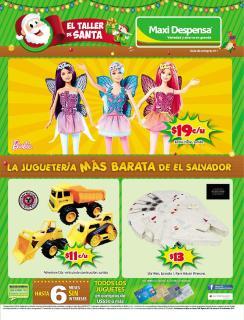 El taller de santa guia de juguetes 2015