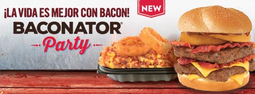 La vida es mejor con WENDYS baconator burger