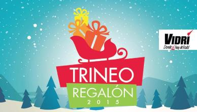 Promocion Trineo Regalon 2015 almacenes VIDRI el salvador