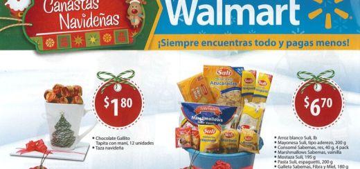 Promociones y ofertas canastas de navidad walmart
