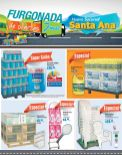 SANTA ANA pendiente con la furgonada de ofertas de FREUND