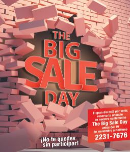 Suscribite y participa en la magazine The Big sale day