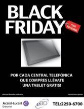 Tabet GRATIS black friday ALCATEL LUCENT central telefonica