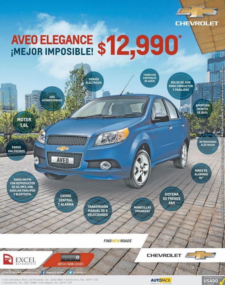 chevrolet AVEO elegance FULL EXTRAS economic compact car