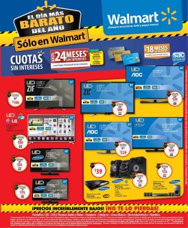 smart tv and audio engine system WALMART noviembre 2015