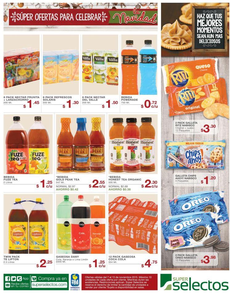 super selectos ofertas para fiestas de fin de - 07nov15
