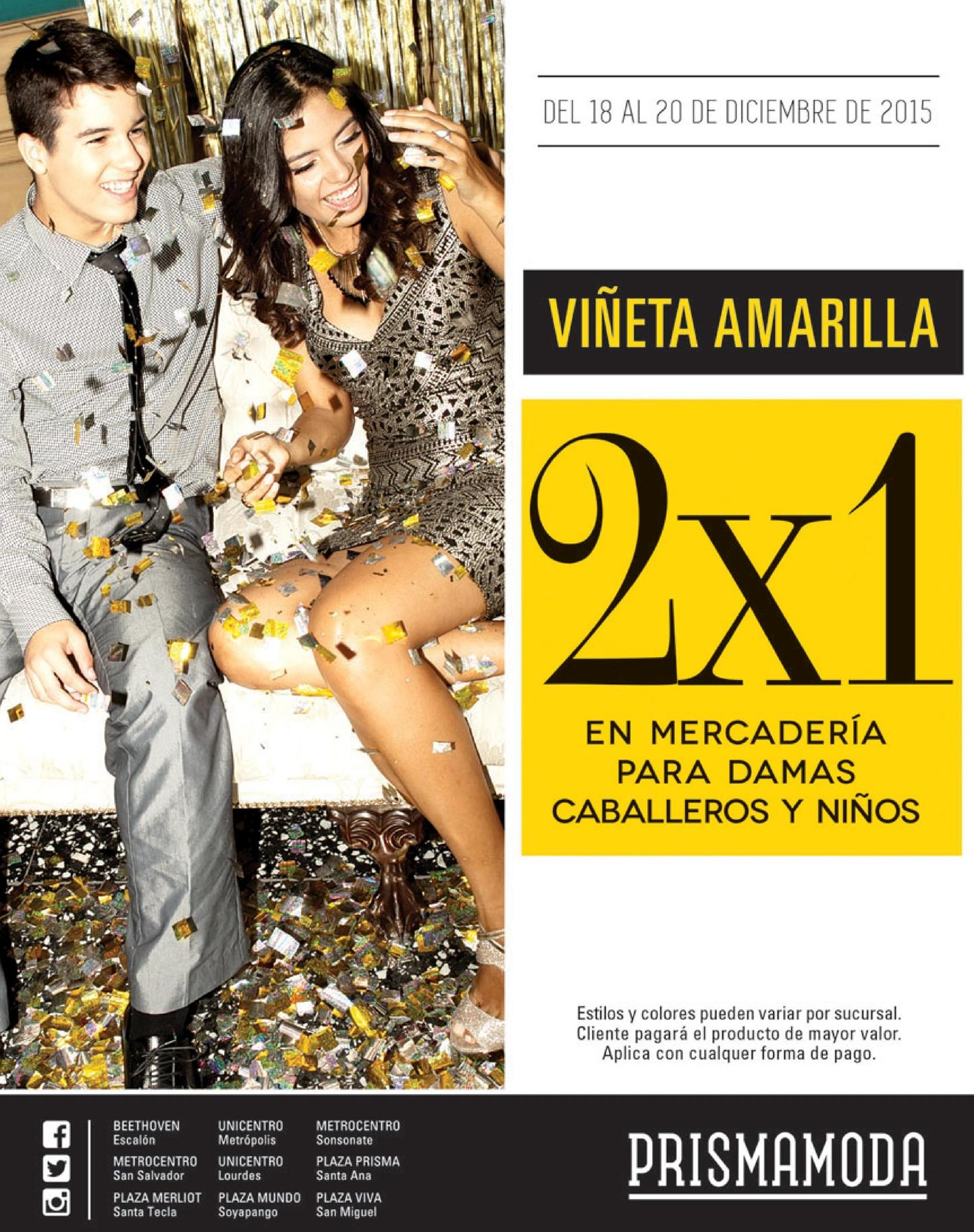 Afeter party great discounts PRISMA MODA - 18dic15