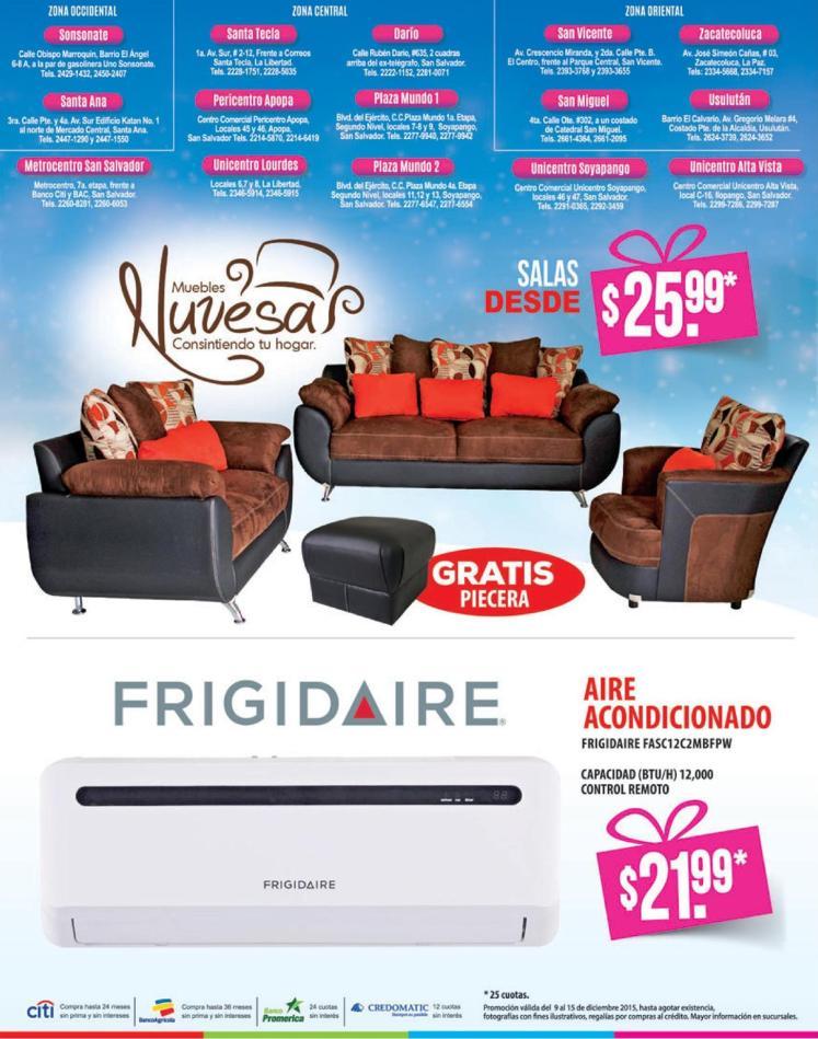 Agencias WAY promocion linea de muebles NUVESA