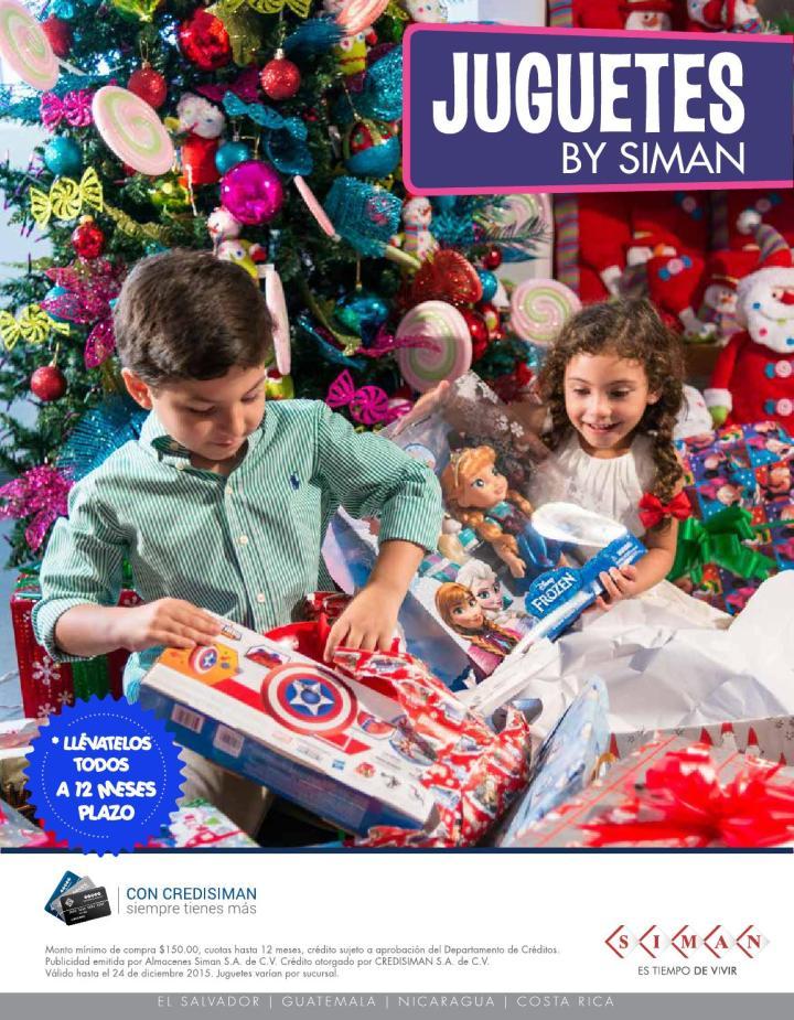 Conoce la nueva colecciond e juguetes 2015 de almacenes SIMAN
