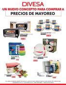 DIVESA tiene nuevos y mejores promociones para compras al mayoreo