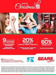 Descuentos SEARS el salvador for merry christmas 2015