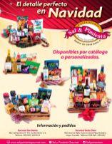 Detalle perfecto canasta gourmet SAL Y PIMIENTA navidad 2015