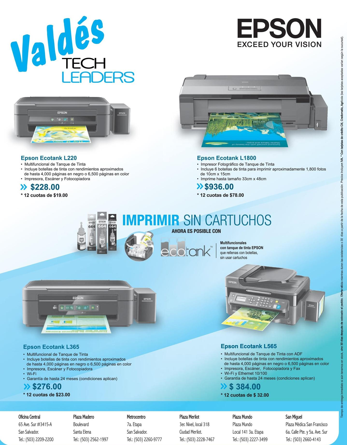 EPSON economia la imprimir tus documentos