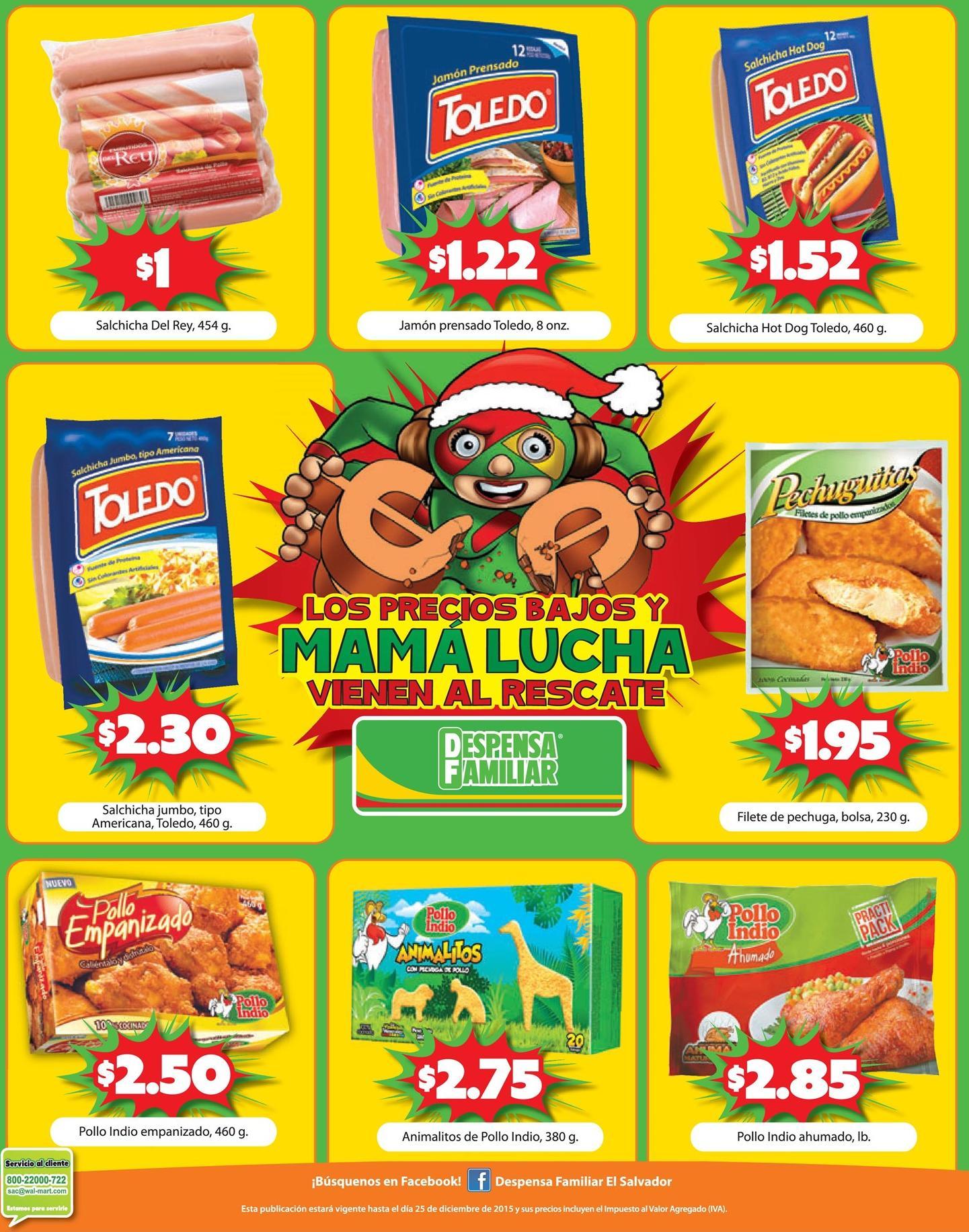 Embutidos y comidas preparadas en ofertas en la DESPENSA FAMILIAR