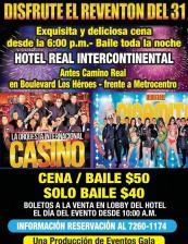 Fiestas de año nuevo 2016 en hotel real intercontinental
