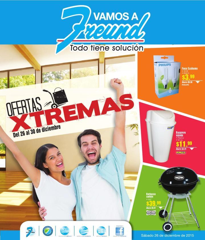 Freund Ofertas XTREMAS Cierre 2015