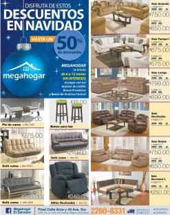 Furniture MEGAHOGAR Descuentos en NAVIDAD 2015