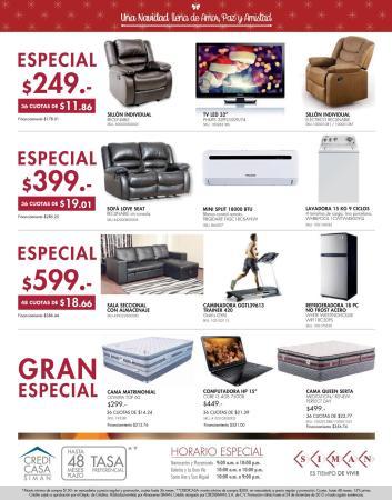 GRAN ESPECIAL de ofertas SIMAN para esta navidad 2015