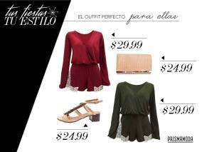 Ideas de como vestir para tus fiestas de fin de año 2015