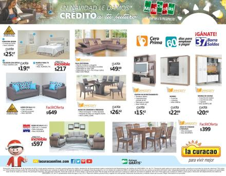 La Curacao el salvador ofertas FURNITURE for merry christmas