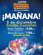 Mañana sabado 5 de diciembre es el dia de las luces campero 2015