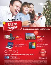 Nuevas promociones HOGAR CLARO para anio nuevo 2016