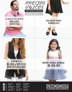 PRISMA MODA es ofertas con precios unico para toda la familia - 15dic15