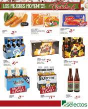 Pagas menos te llevas mas cervezas solo en selectos - 18dic15