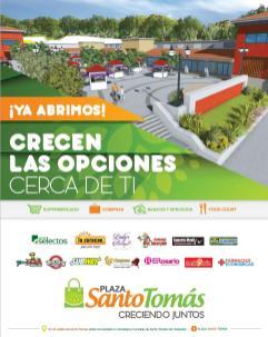 Plaza santo tomas nueva urbanizacion y comercios