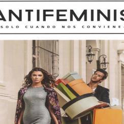 chicas de compras anti feministas