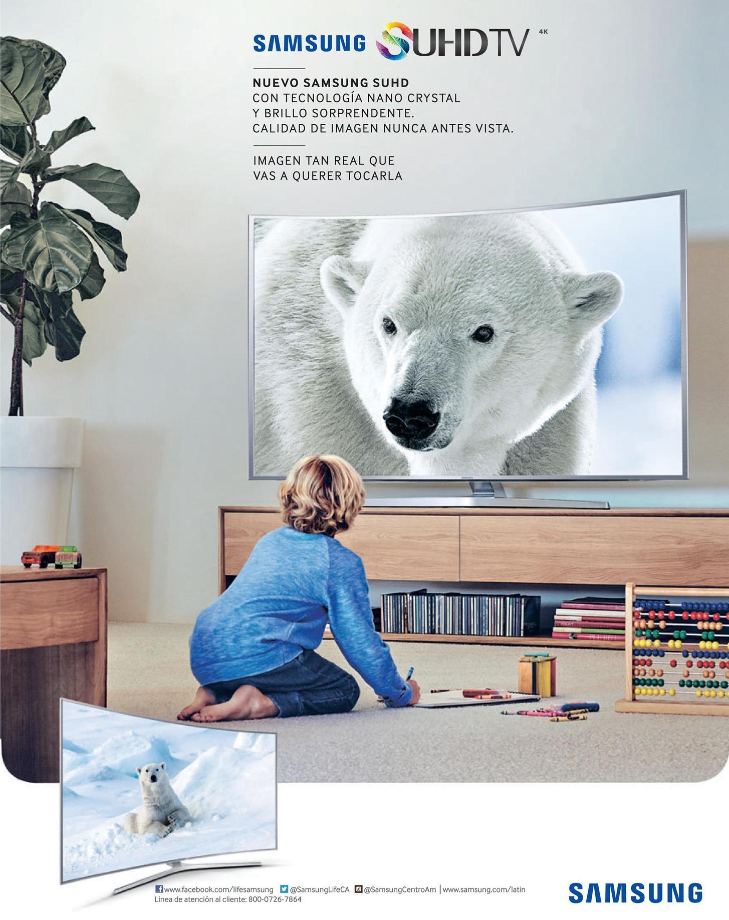 new high definition screen SAMSUNG SUHDTV nano crystal