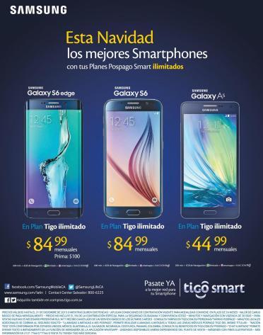 ofertas La nueva linea de telefonos inteligentes SAMSUNG EDGE