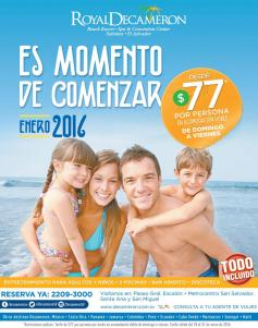 All inclusive promotion to JANUARY 2016 beachs el salvador